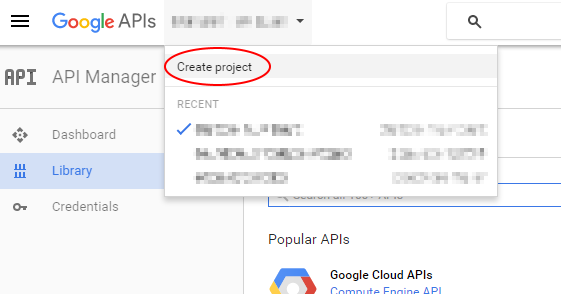 Create a new project if you want