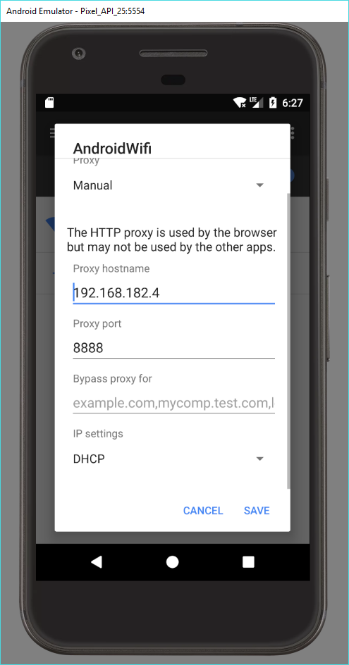 Bypassing Android Cert Pinning Using a Rooted Emulator (AVD)